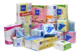 Туалетная бумага, салфетки